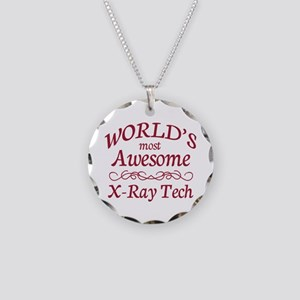 Awesome X-Ray Tech Necklace Circle Charm