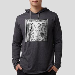 dave k. comic Mens Hooded Shirt