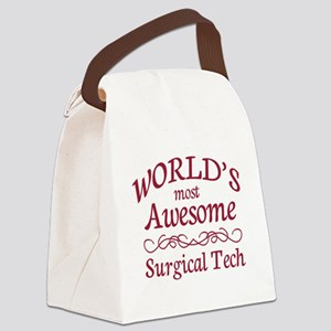 Awesome Surgical Tech Canvas Lunch Bag