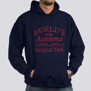 Awesome Surgical Tech Hoodie (dark)