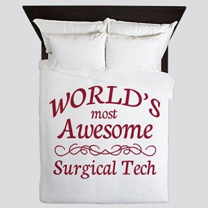 Awesome Surgical Tech Queen Duvet
