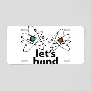Lets bond Aluminum License Plate
