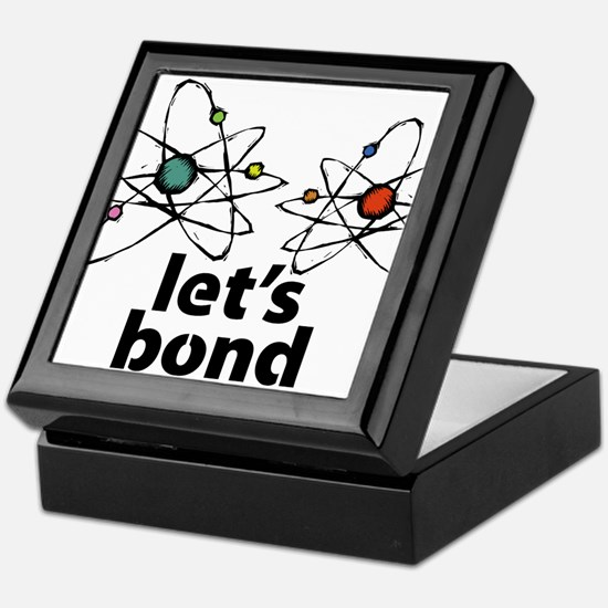Lets bond Keepsake Box