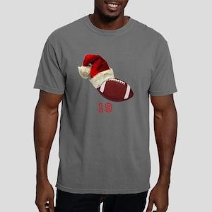 Football Santa Mens Comfort Colors Shirt