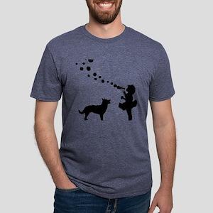 Australian-Kelpie28 Mens Tri-blend T-Shirt