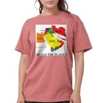 save the PLANET.png Womens Comfort Colors Shirt