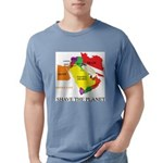 save the PLANET.png Mens Comfort Colors Shirt