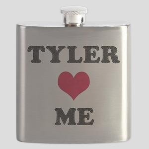 Tyler Loves Me Flask