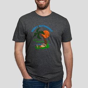 HAPPY RETIREMENT Mens Tri-blend T-Shirt