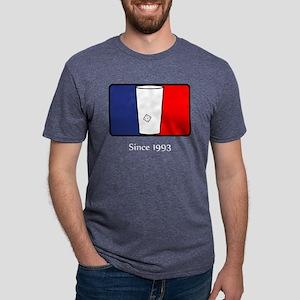 SHIRT_league_year_white Mens Tri-blend T-Shirt