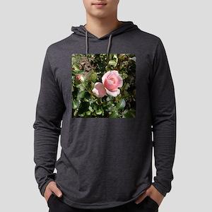 Rose-4 Mens Hooded Shirt