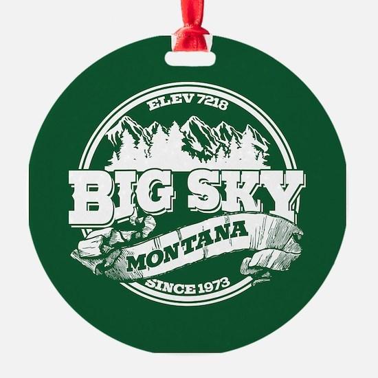Big Sky Old Circle Ornament