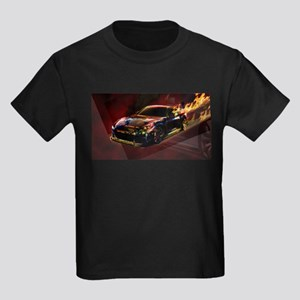 Abstract GTR Kids Dark T-Shirt