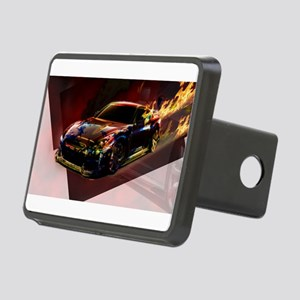 Abstract GTR Rectangular Hitch Cover