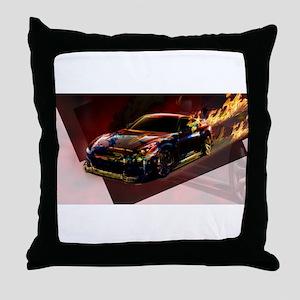 Abstract GTR Throw Pillow