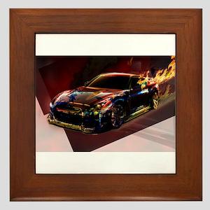 Abstract GTR Framed Tile