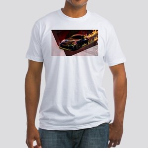 Abstract GTR Fitted T-Shirt