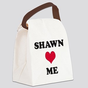 Shawn Loves Me Canvas Lunch Bag