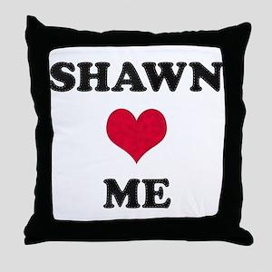 Shawn Loves Me Throw Pillow