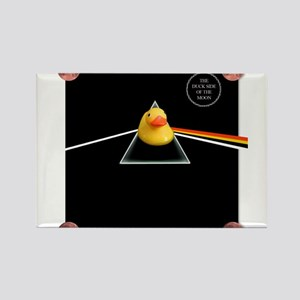 Duck Side of the Moon Album Rectangle Magnet