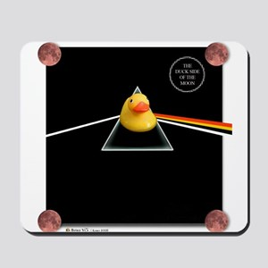 Duck Side of the Moon Album Mousepad