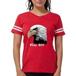 piss off black eagle copy.pn Womens Football Shirt
