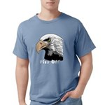 piss off black eagle cop Mens Comfort Colors Shirt