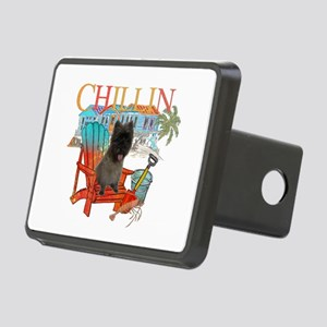 Cairn Terrier Chillin' Rectangular Hitch Cover