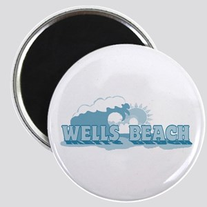 Wells Beach MA - Beach Design. Magnet