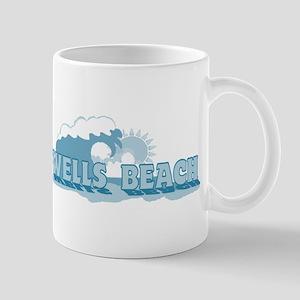 Wells Beach MA - Beach Design. Mug