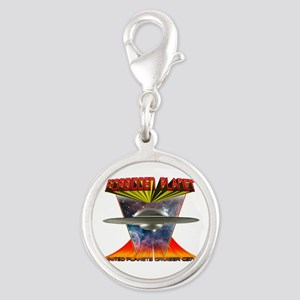 United Planets Cruiser Silver Round Charm