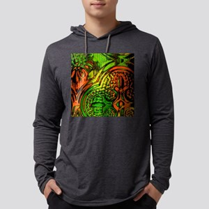 Colored Glass Photo Mens Hooded Shirt