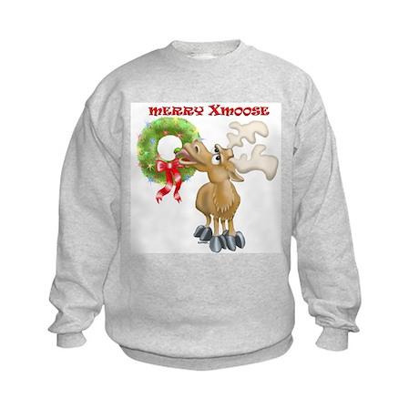 Merry Xmoose Kids Sweatshirt