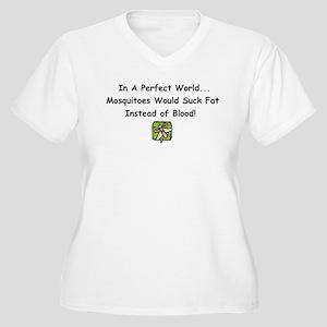 mosquitoes Women's Plus Size V-Neck T-Shirt