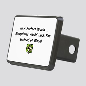 mosquitoes Rectangular Hitch Cover