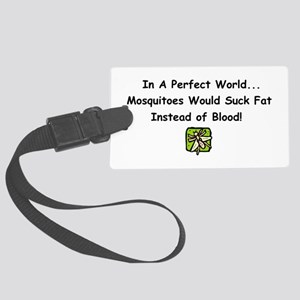 mosquitoes Large Luggage Tag