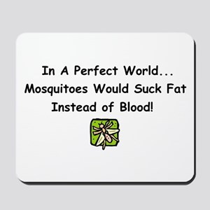 mosquitoes Mousepad