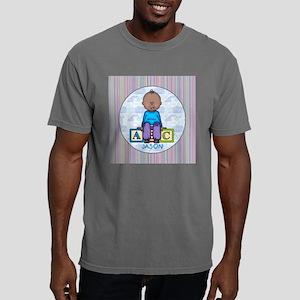 BabyBoyRoundJASON Mens Comfort Colors Shirt