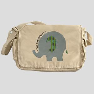The Elephant Messenger Bag