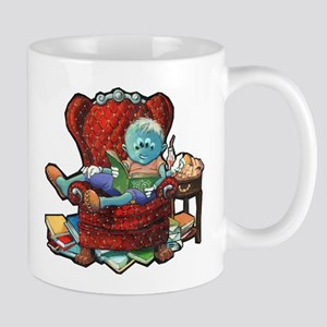 Lil Newt Reading Mug