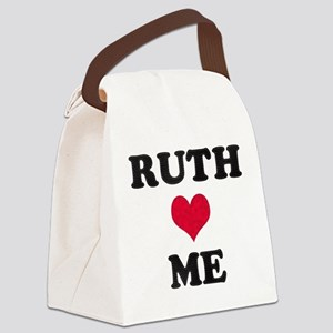 Ruth Loves Me Canvas Lunch Bag