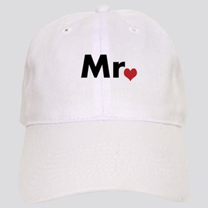 Mr and Mrs matching hats / caps
