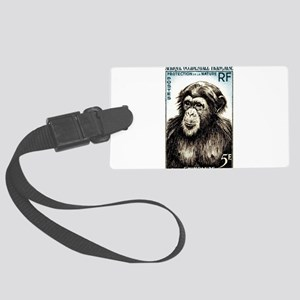 1955 French West Africa Chimp Postage Stamp Large