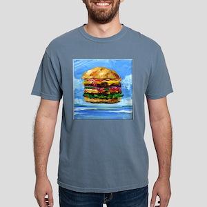 Cheeseburger in the Trop Mens Comfort Colors Shirt