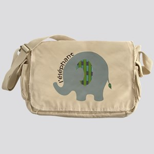 L'elephant Messenger Bag