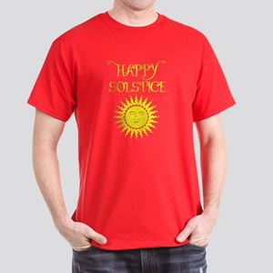 Happy Solstice Dark T-Shirt