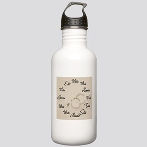 Writer's Clock Stainless Water Bottle 1.0L
