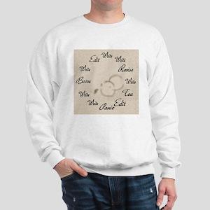 Writer's Clock Sweatshirt
