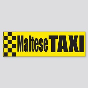 Maltese Terrier Bumper Sticker