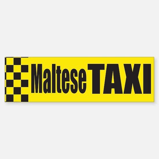 Maltese Terrier Bumper Bumper Bumper Sticker